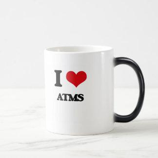 I Love Atms 11 Oz Magic Heat Color-Changing Coffee Mug
