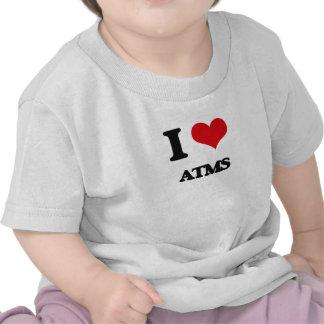 I Love Atms Tee Shirts