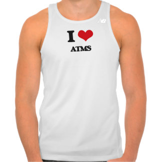 I Love Atms New Balance Running Tank Top