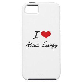 I Love Atomic Energy Artistic Design Tough iPhone 5 Case