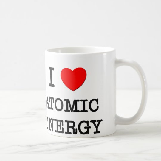 I Love Atomic Energy Coffee Mug