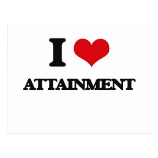I Love Attainment Post Card