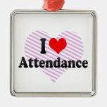 I love Attendance Ornaments