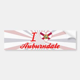 I Love Auburndale, Florida Bumper Sticker