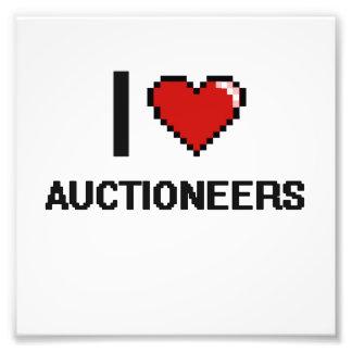 I love Auctioneers Photo Art