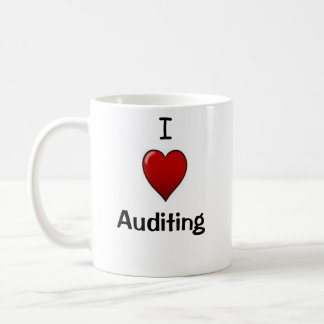 I Love Auditing - Double-sided Coffee Mug