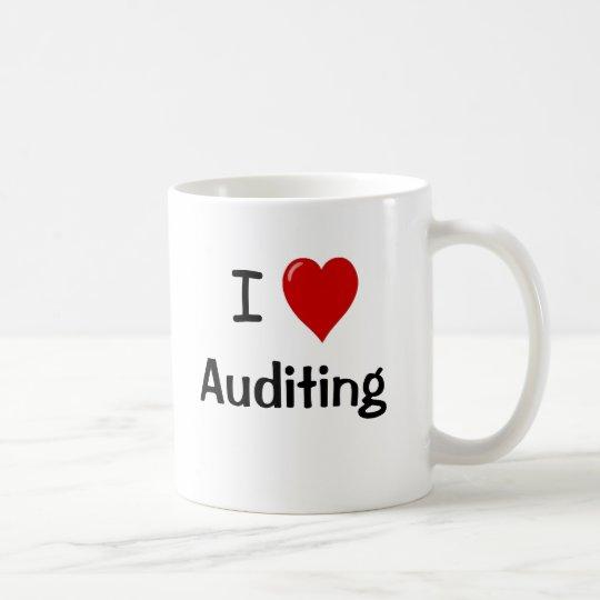 I Love Auditing - Double-sided Coffee Mug