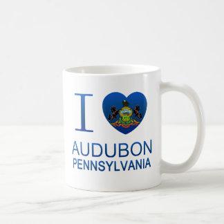 I Love Audubon, PA Coffee Mugs