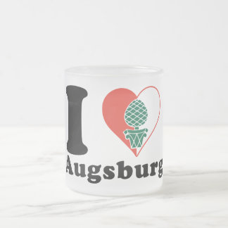 I love Augsburg Frosted Glass Coffee Mug