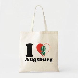 I love Augsburg Tote Bag