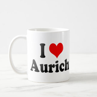 I Love Aurich, Germany. Ich Liebe Aurich, Germany Mug