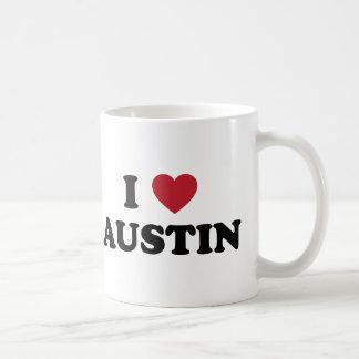 I Love Austin Mugs