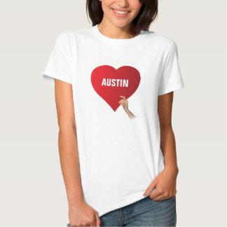 I Love Austin T Shirt