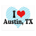 I Love Austin, TX Postcard