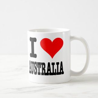 I Love Australia Coffee Mug