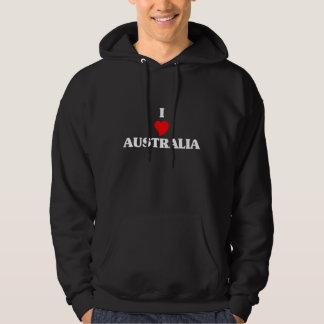 I Love Australia Hoodie