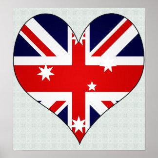 I Love Australia Print