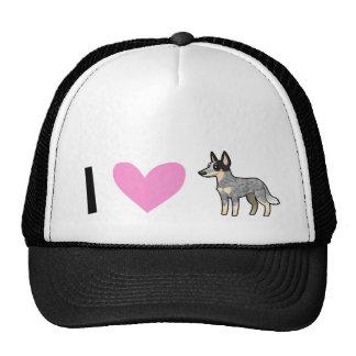 I Love Australian Cattle Dogs  / Kelpies Cap