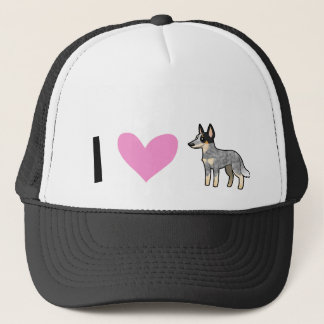 I Love Australian Cattle Dogs  / Kelpies Trucker Hat