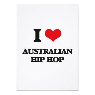 I Love AUSTRALIAN HIP HOP Cards