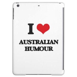 I Love AUSTRALIAN HUMOUR iPad Air Covers