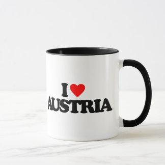 I LOVE AUSTRIA MUG
