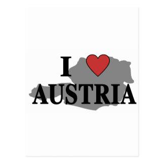 I Love Austria Postcard