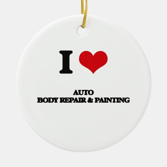I Love Auto Body Repair & Painting Christmas