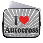 I love Autocross Laptop Computer Sleeves