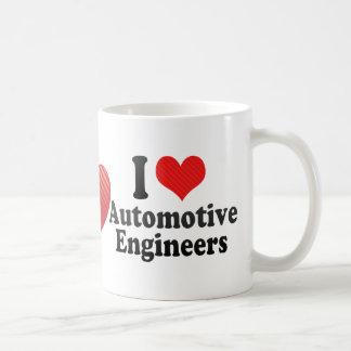 I Love Automotive Engineers Coffee Mug