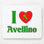 I Love Avellino Italy Mouse Pads