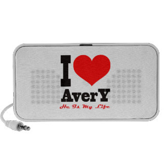 I Love Avery He Is My Life PC Speakers
