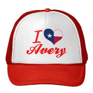 I Love Avery, Texas Trucker Hat
