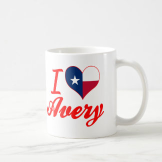 I Love Avery, Texas Mugs