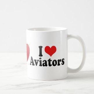 I Love Aviators Mug