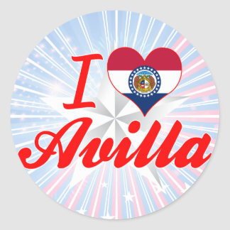 I Love Avilla, Missouri Sticker