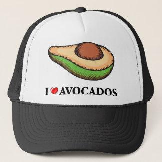 I Love Avocados Trucker Hat