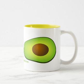I Love Avocados Two-Tone Coffee Mug