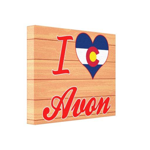 I Love Avon, Colorado Canvas Print