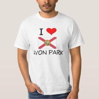 I Love AVON PARK Florida Shirts