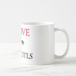 I Love Axolotls Coffee Mug