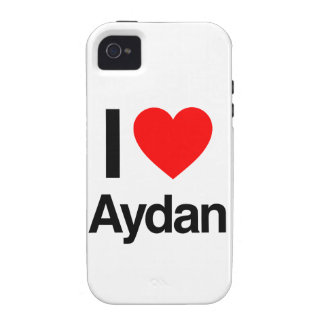 i love aydan vibe iPhone 4 cover
