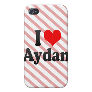 I love Aydan iPhone 4/4S Cover