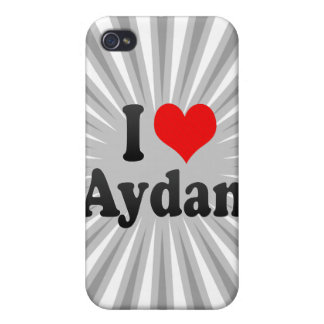 I love Aydan Case For iPhone 4