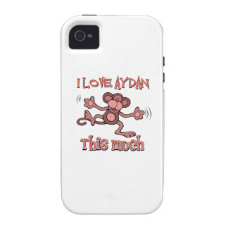 I love AYDAN this much Case-Mate iPhone 4 Cover