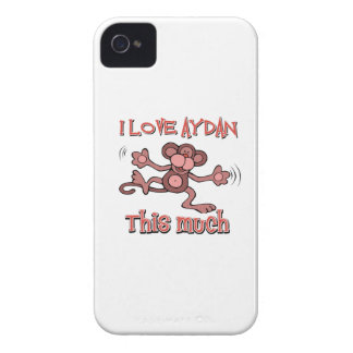 I love AYDAN this much Case-Mate iPhone 4 Case