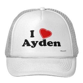 I Love Ayden Cap