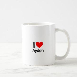 i love ayden coffee mug