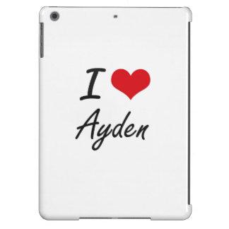 I Love Ayden iPad Air Cases
