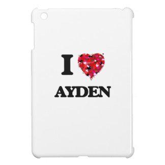 I Love Ayden iPad Mini Covers